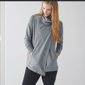 Lululemon Coast Wrap Sweater cardigan